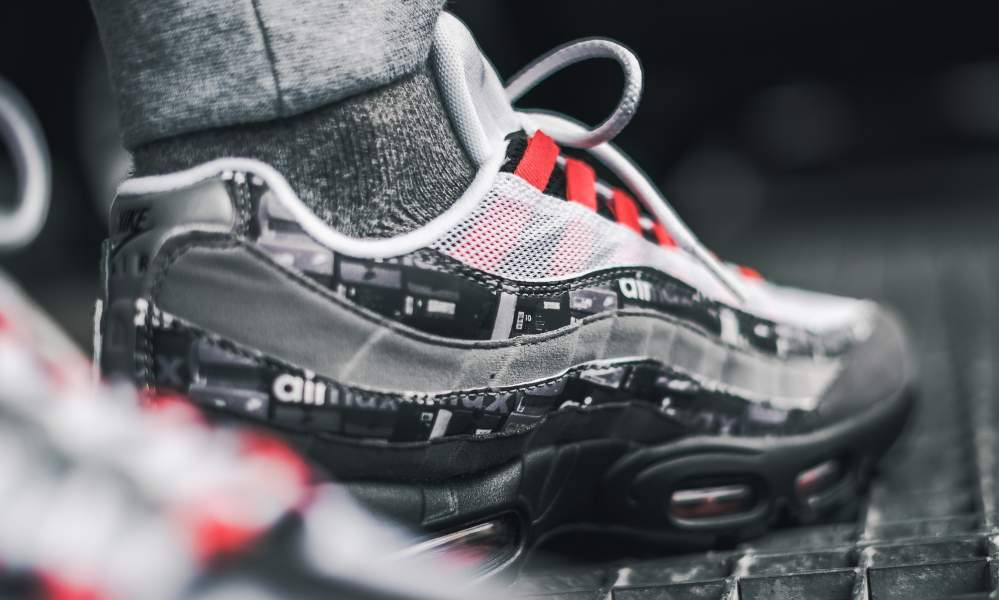 "AQ0925-002 アトモス×ナイキエアマックス95″We Love Nike""が2018年5月19日発売予定!"