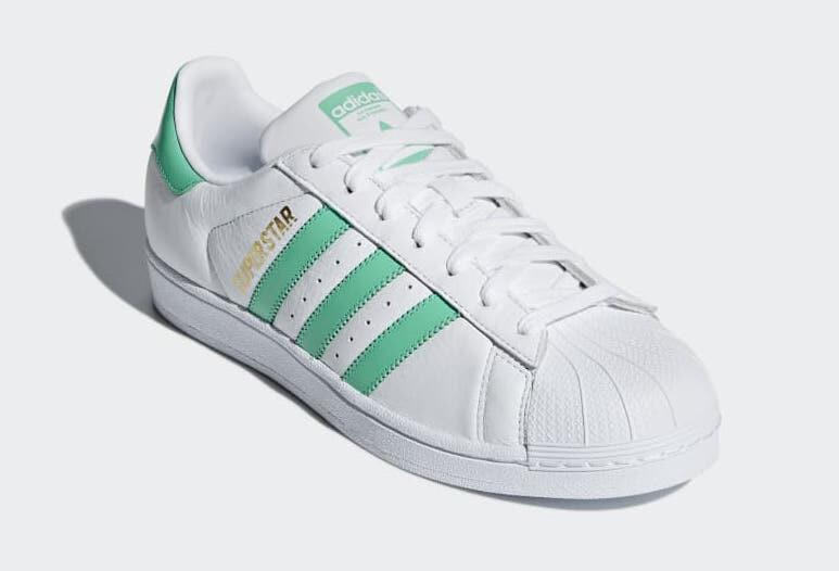 "B41995 アディダススーパースター""グリーン""/adidas Superstar ""Green"""