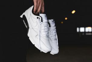"""buy online 37c33 6c2d0 AJ7695-106 ナイキエアマックス90 1″ホワイト ブラック"""" Nike Air Max 90 1 """"WHITE BLACK"""""""