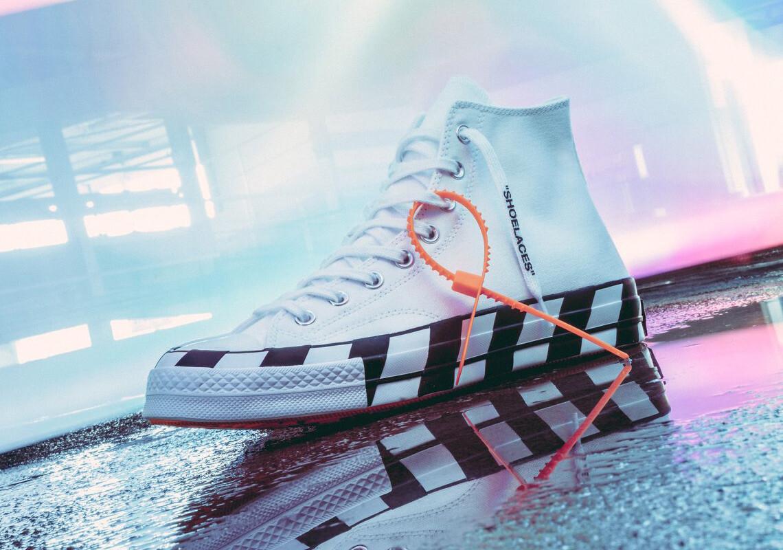 オフホワイト×コンバースチャック70/Off-White x Converse Chuck 70が2018年10月8日発売