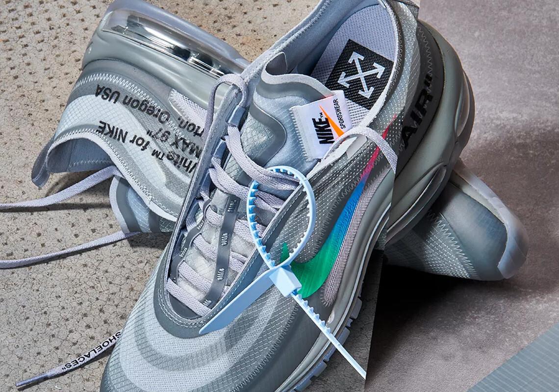 AJ4585-101 オフホワイト×ナイキエアマックス97/Off-White x Nike Air Max 97が2018年10月18日発売予定