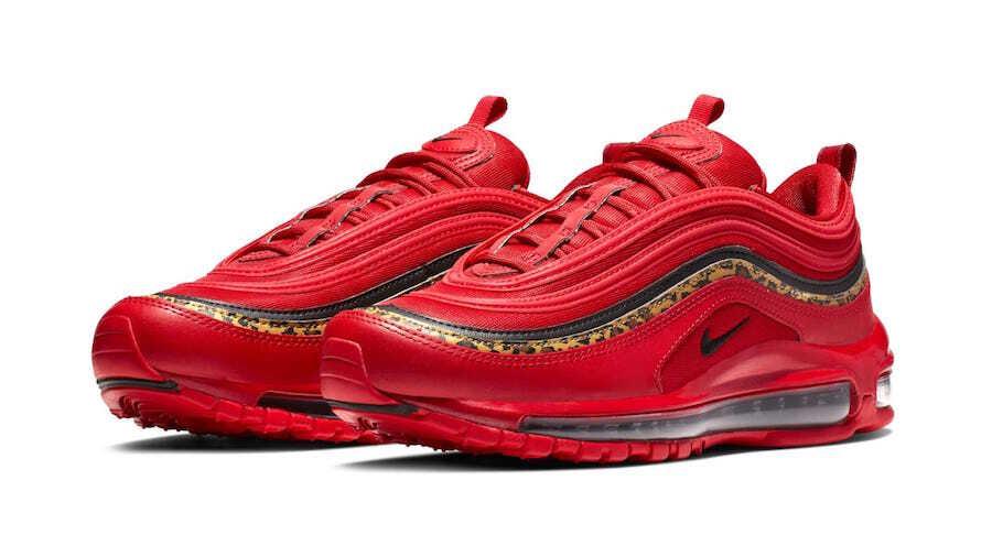 ナイキエアマックス97レッドレオパード/Nike Air Max 97 Red Leopardが近日発売予定