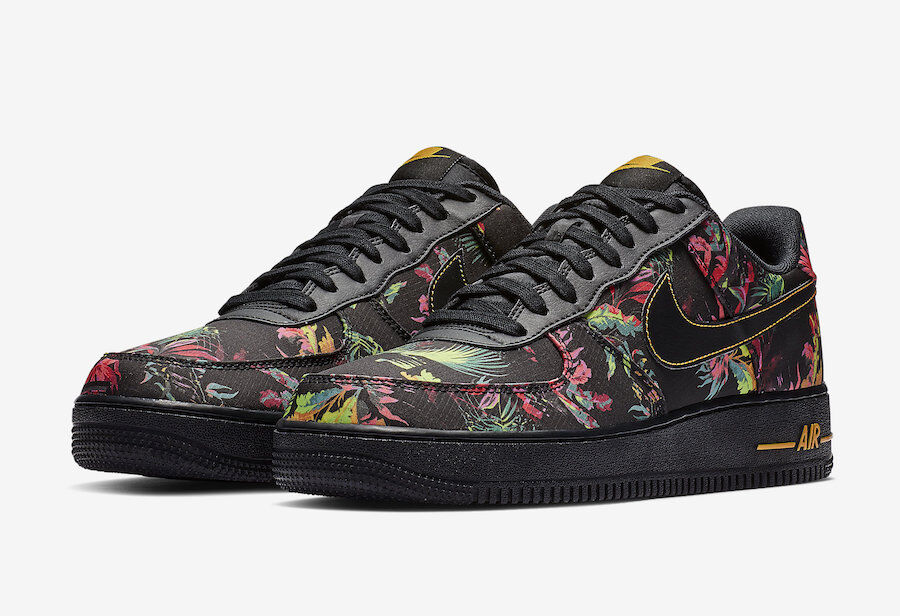 BV6068-001 ナイキエアフォース1'07エレベートフローラルパック/Nike Air Force 1 '07 LV8 FLORAL PACKが2019年1月1日発売予定