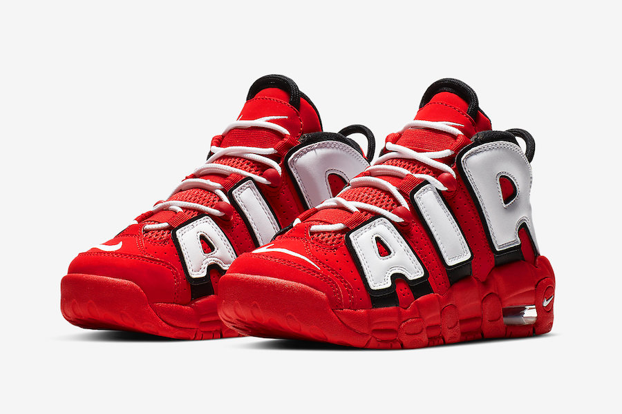 CD9402-600 ナイキエアモアアップテンポレッド/ホワイト-NIKE AIR MORE UPTEMPO RED/WHITE