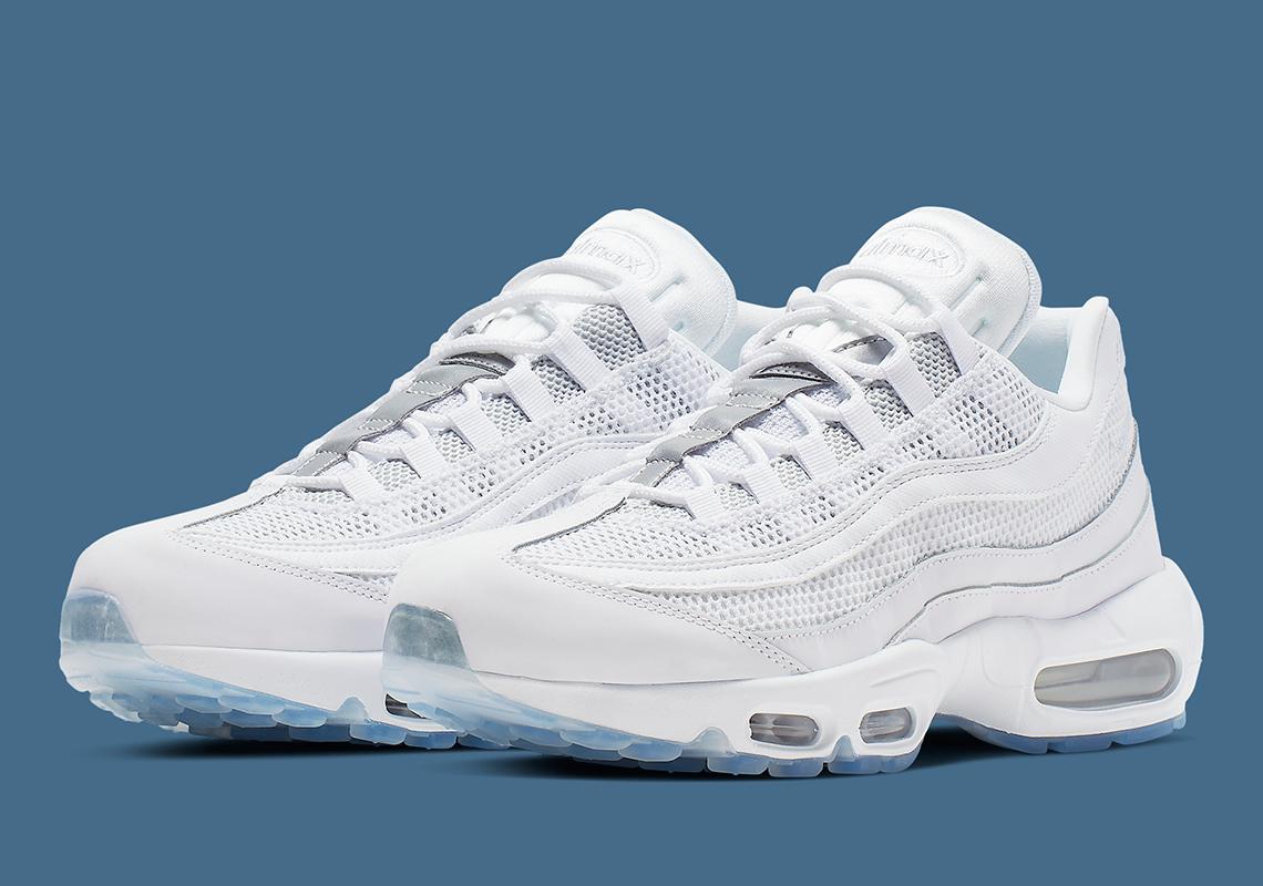 749766-115 ナイキエアマックス95エッセンシャルホワイト/Nike Air Max 95 Essential White