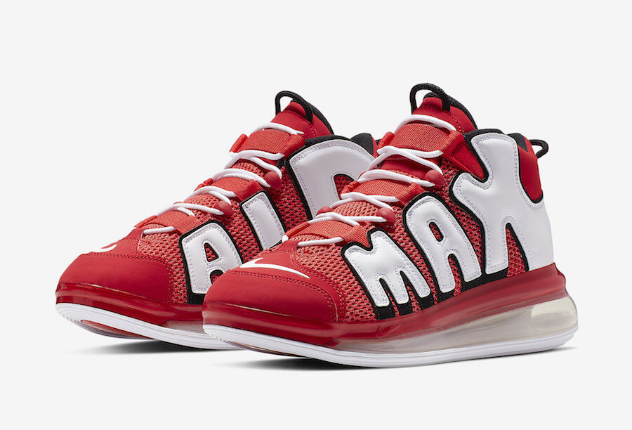 CJ3662-600 ナイキエアモアアップテンポ720ユニバーシティレッド/NIKE AIR MORE UPTEMPO 720 UNIVERSITY RED