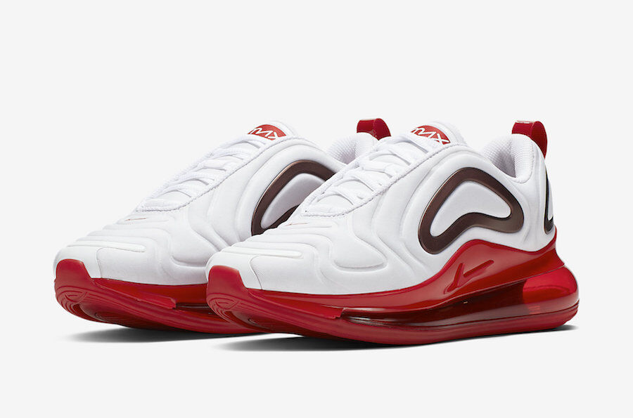 CD2047-100 ナイキエアマックス720ホワイト/ジムレッド-NIKE AIR MAX 720 WHITE/GYM RED