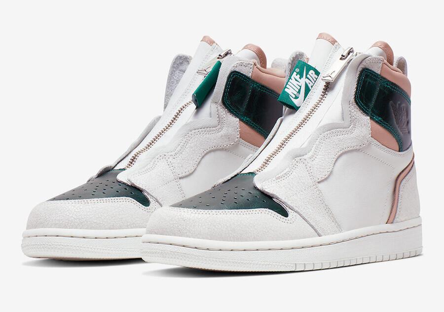 AQ3742-003 ナイキエアジョーダン1ハイジップミスティックグリーン/Nike Air Jordan 1 High Zip Mystic Green