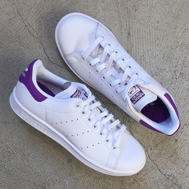 アディダススタンスミスパープル/ホワイト-adidas STAN SMITH PURPLE/WHITE(EE5864)