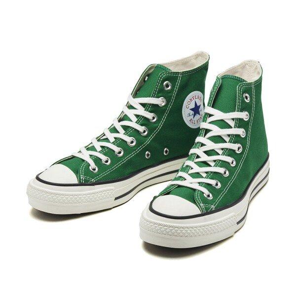 コンバースキャンバスオールスターJハイグリーン/CONVERSE CANVAS ALL STAR J HI GREEN(31300670)