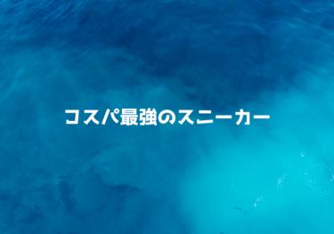 【1万円以内】コスパ最強のスニーカーのおすすめ10選!メンズ・レディースモデルを紹介1